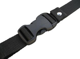 樹脂バックル(25mm幅)黒